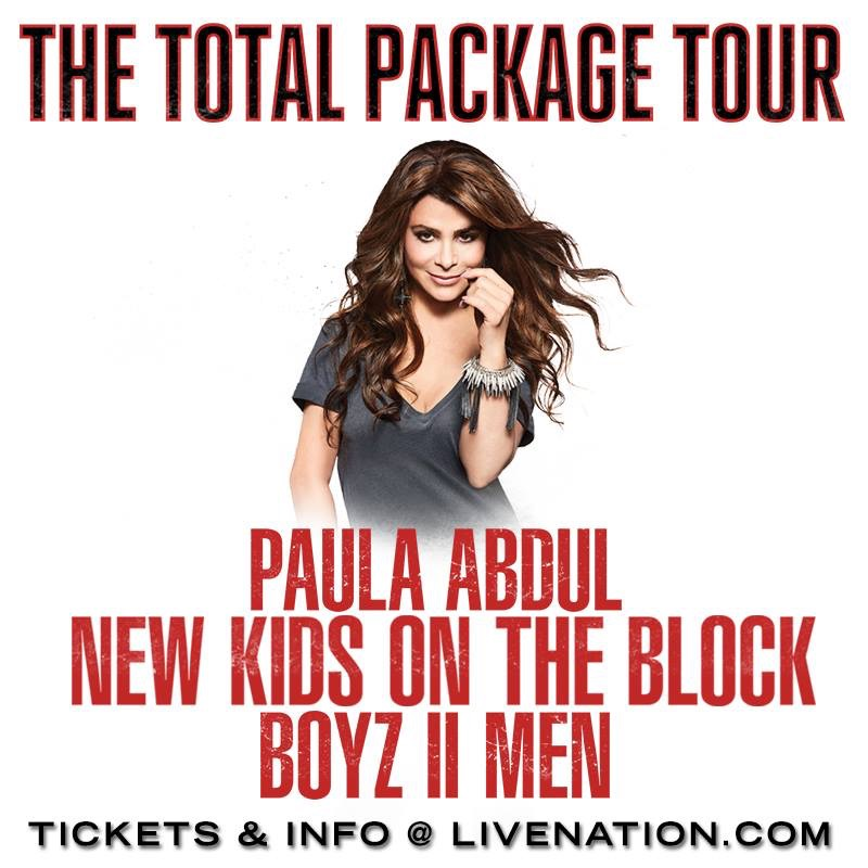 Total Package Tour Paula Abdul Vip