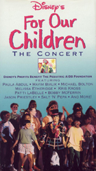For Our Children - The Concert VHS