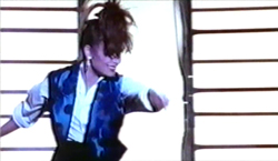 Still image from the Forever Your Girl music video