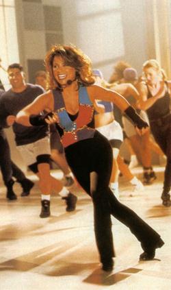 Paula Abdul Dancing