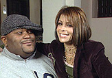 Paula Abdul with Ruben Studdard